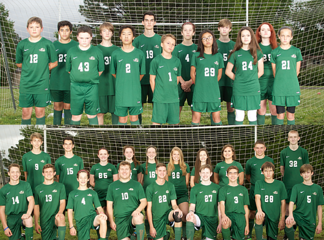 2015-16 FCS Knights MS & HS Soccer Teams